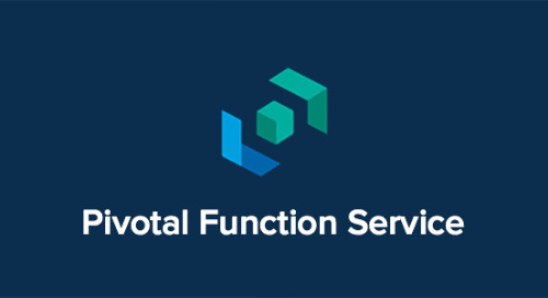 The First Open, Multi-cloud Serverless Platform for the Enterprise Is Here. Try out Pivotal Function Service Today!