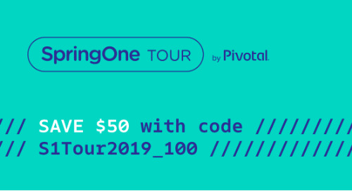 Register Now and Save on SpringOne Tour London