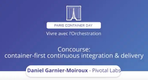 Concourse : container-first continuous integration & delivery