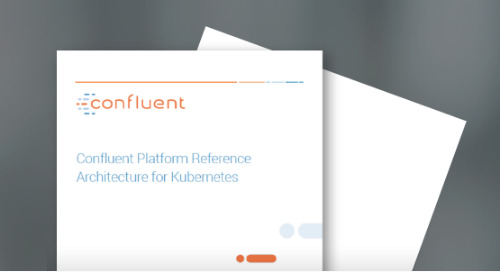 Confluent Platform Reference Architecture for Kubernetes