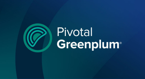 Pivotal Greenplum: Innovation in Data Management for Analytics