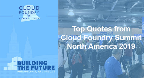 Top Quotes from Cloud Foundry Summit North America 2019