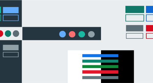 A11Y Color Contrast, Button Triads, and the new Pivotal UI Color Palette