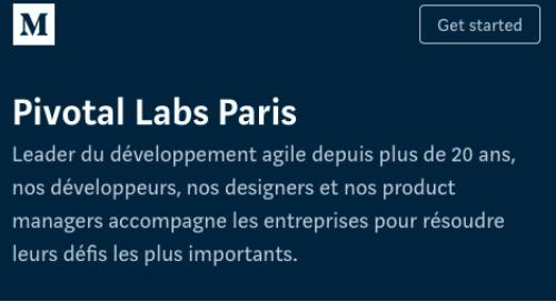 Pivotal Labs Paris Medium