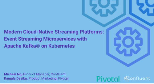Event Streaming Microservices with Apache Kafka® on Kubernetes Webinar