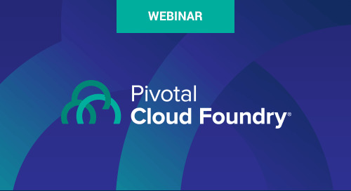 Jun 27 - Pivotal Cloud Foundry 2.6: A First Look Webinar