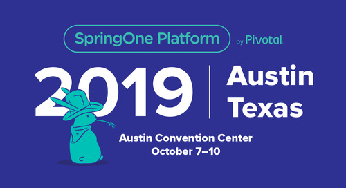 What to Watch: SpringOne Platform 2019