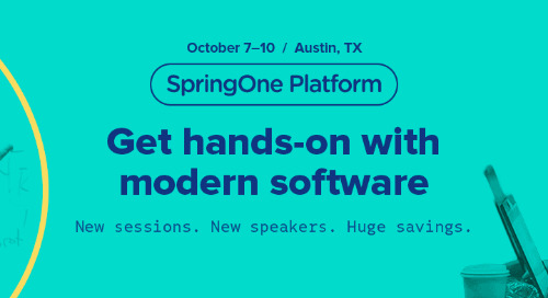 Continuous Delivery for Modern Apps: Front and Center at SpringOne Platform