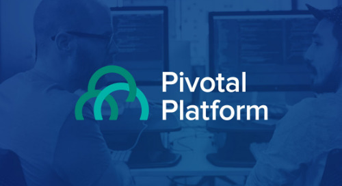 Oct 24 - Pivotal Platform: A First Look at the October Release Webinar