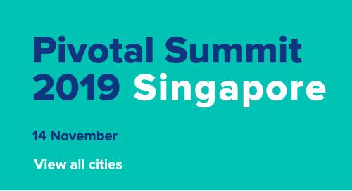 Pivotal Summit 2019 Singapore