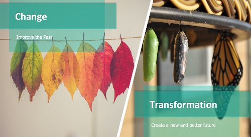 Business transformation simplified: The 4 x 3 approach