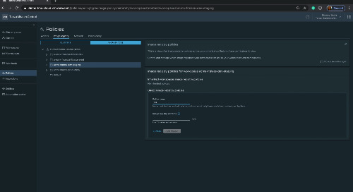 Tanzu Mission Control Policy Engine: Image Registry Policy