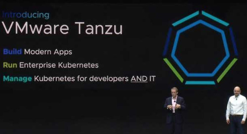 What's in a Name? How Pivotal's Products Are Being Renamed as Part of VMware Tanzu