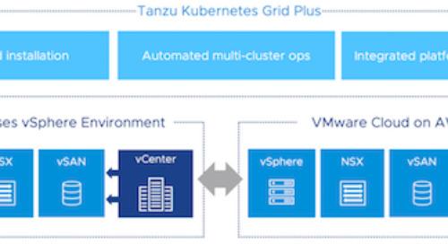 Sneak peek at deploying Tanzu Kubernetes Grid on vSphere & VMware Cloud on AWS
