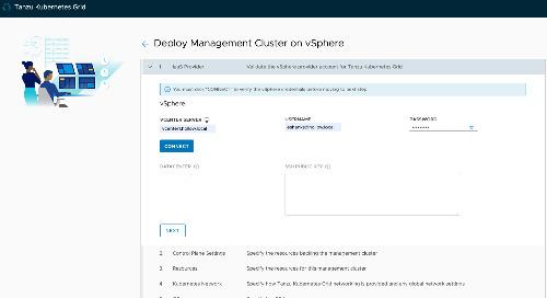 Deploying Tanzu Kubernetes Grid Management Clusters – vSphere