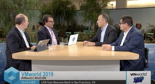 David Appel, Raytheon & Gil Shneorson, Dell EMC | VMworld 2019