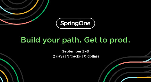 SpringOne Sessions and Workshops Now Released—Register Today!