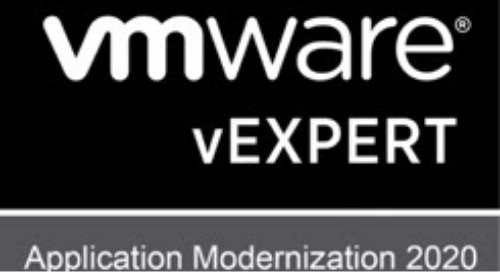 Announcing the VMware Application Modernization vExpert Program 2020