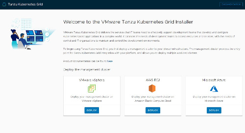 Announcing the General Availability of VMware Tanzu Kubernetes Grid 1.2