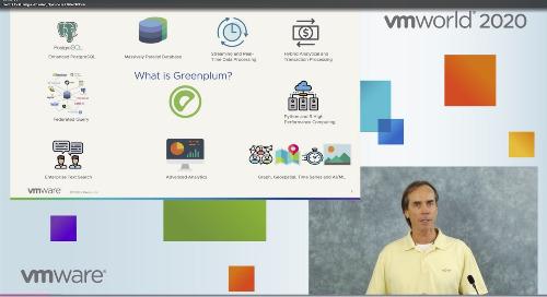 Analytic Workloads from BI to AI with VMware Tanzu Greenplum