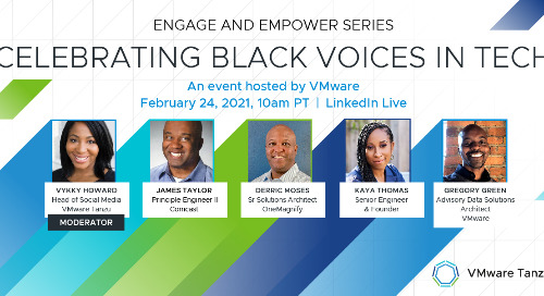 Feb 24 - Engage and Empower Series: Celebrating Black Voices in Tech
