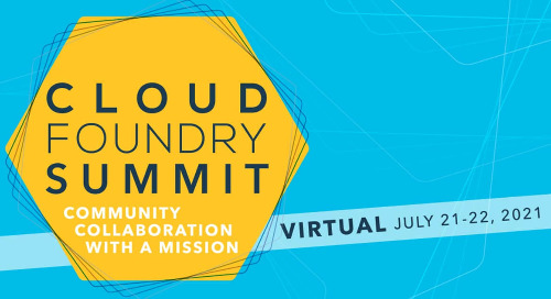 Jul 21 - Cloud Foundry Summit
