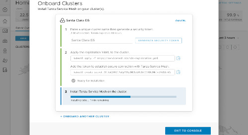 VMware Tanzu Service Mesh, built on VMware NSX is Now Available!