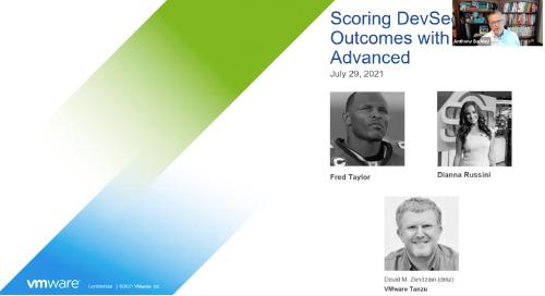 Scoring DevSecOps Outcomes with Tanzu Advanced
