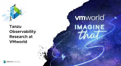 Want to Move the Needle for Observability? Join our Research Sessions at VMworld!