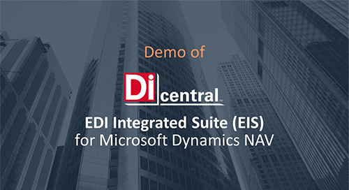 Demo: EIS for MS Dynamics NAV