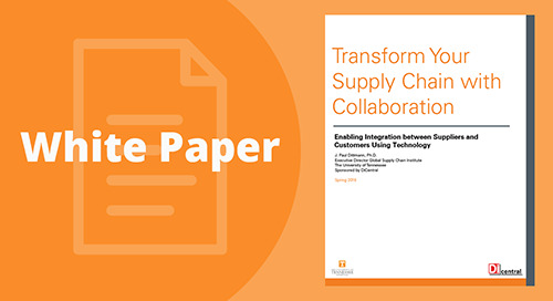University of Tennessee & DiCentral: Transform Your Supply Chain With Collaboration