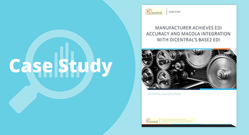 Manufacturer Achieves EDI Accuracy and Macola Integration With Base2 EDI