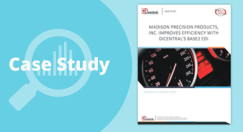 Madison Precision Products Improves Efficiency With Base2 EDI