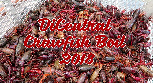 2018 DiCentral Employee Crawfish Boil!
