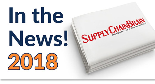 Oct 10 ~ 100 Great Supply Chain Partners of 2018