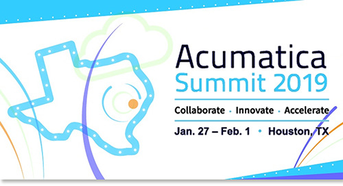 Jan 27-Feb1, 2019: DiCentral at Acumatica Partner Summit