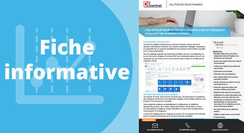 L'EDI évolué pour MS Dynamics NAV et 365 Business Central