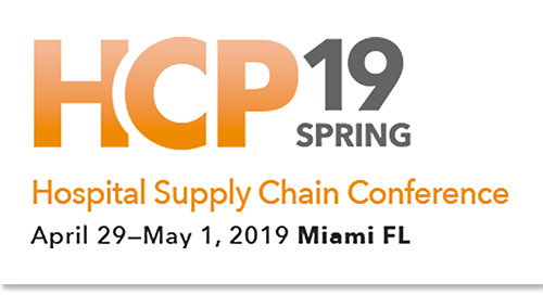Apr 29-May 1, 2019: Health Connect Partners Hospital Supply Chain Conference in Miami