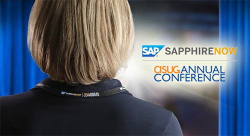 May 7-9, 2019: SAP SAPPHIRE NOW and ASUG Annual Conference