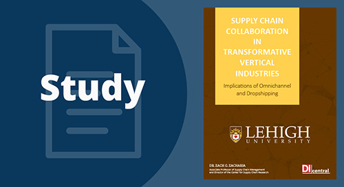 Lehigh University Study: Supply Chain Collaboration in Transformative Vertical Industries