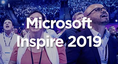 Jul 14-18, 2019: Microsoft Inspire @ Las Vegas