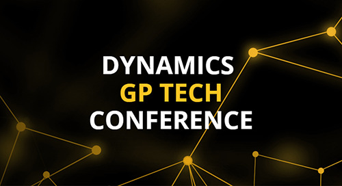 Sep 9-11, 2019: Dynamics GP Tech Conference @ Fargo, ND