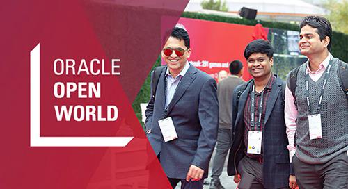 Sep 16-19, 2019: Oracle Open World @ San Francisco