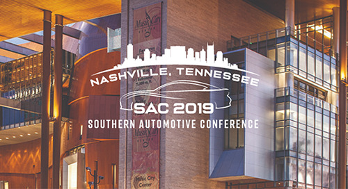 Sep 25-27, 2019: Southern Automotive Conference @ Nashville