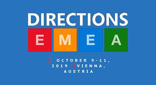 Oct 9-11: Directions EMEA @ Vienna, Austria