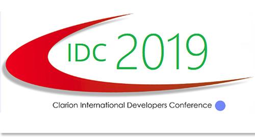 Sep 23-27, 2019: Clarion International Developer Conference @ Orlando