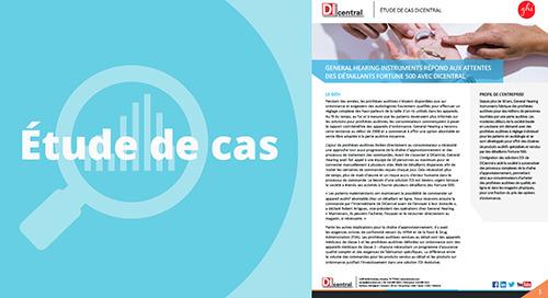 General Hearing Instruments: répond aux attentes des détaillants Fortune 500 avec DiCentral