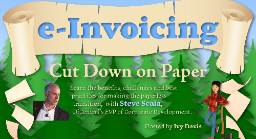 e-Invoicing: Cut Down on Paper