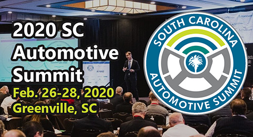 Feb 26-28, 2020: South Carolina Automotive Conference @ Greenville