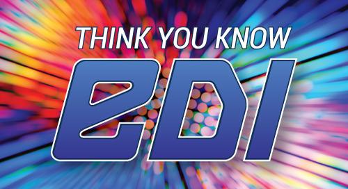 Webinar: Think You Know EDI